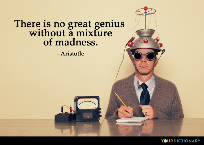 Any good articles on madness or genius?