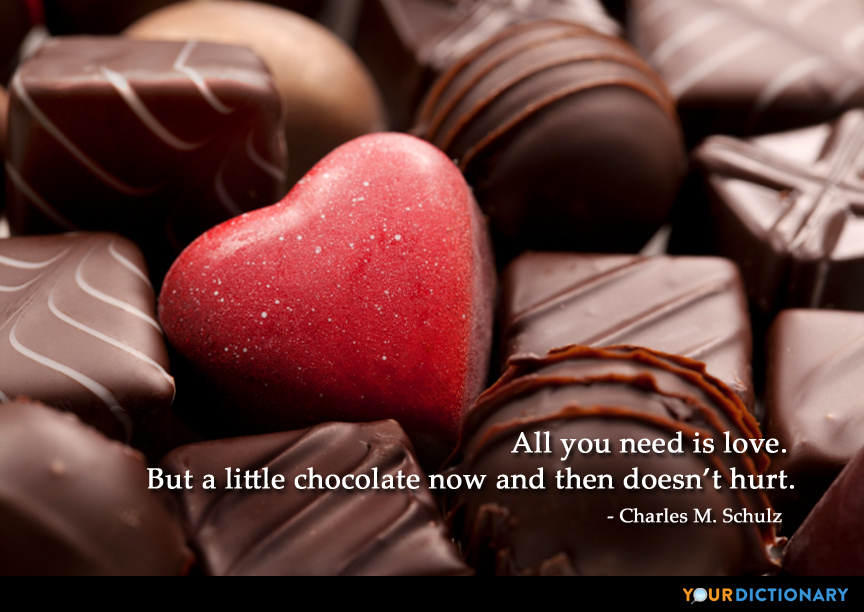 All You Need Is Love But A Little Chocolate Now Charles M