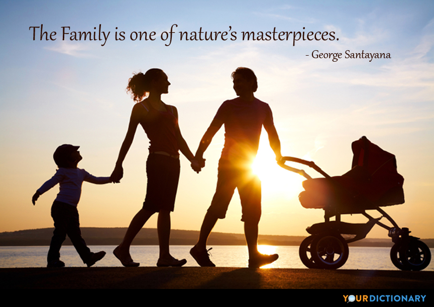 The Family Is One Of Natures Masterpieces
