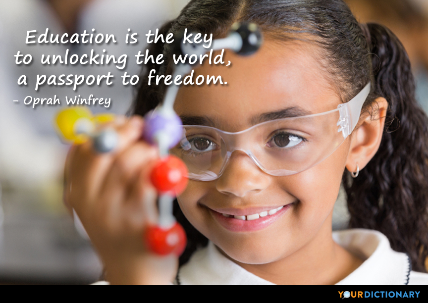 Image result for education quotes oprah