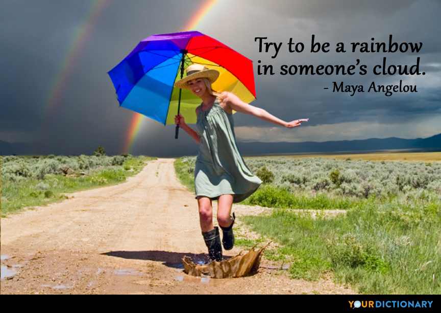 Quotation On Rainbow: Rainbow Quotes - Quotes About Rainbow