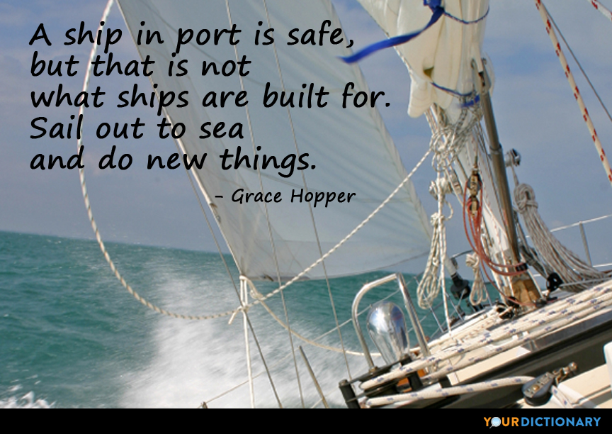 Sailing Quotes: Ship Quotes - Quotes About Ship