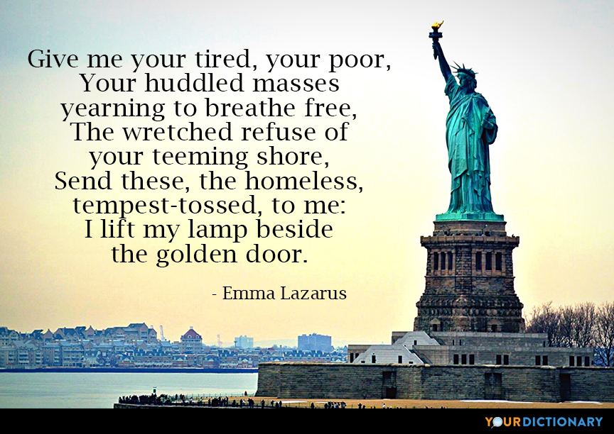 Statue Of Liberty Quotes Quotes About Statue Of Liberty Custom Statue Quotes